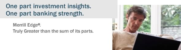 One part investment insights. One part banking strength.