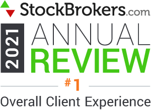 StockBrokers.com 2019 Annual Review #1 Overall Client Experience