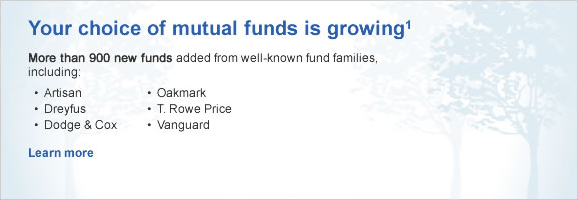 Your choice of mutual funds is growing - OSE Carousel