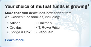 Your Choice of Mutual Funds is Growing