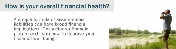 How is your overall financial health?