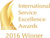 Recognized for customer service excellence by the Customer Service Institute of America