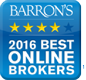 Barron's 2016 Best Online Brokers
