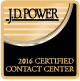 Rated an outstanding customer service experience by JD Power
