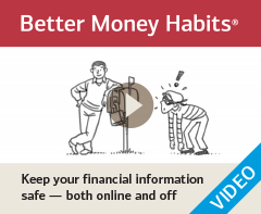 Watch 'Keep your financial information safe - both online and off'
