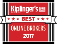 Kiplinger's Best Online Brokers 2017