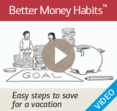Watch 'Easy steps to save for a vacation'